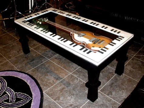 music themed furniture guitar coffee table music furniture pinterest guitar