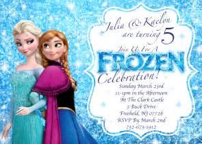 frozen birthday card template frozen invitations disney s frozen winter birthday