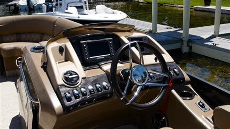 bennington pontoon boat helm 2016 bennington r23 pontoon boatdealers ca article