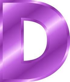Blue Alphabet Letter D Clip Art Image Large Blue Capital Letter D ... O Alphabet Wallpaper
