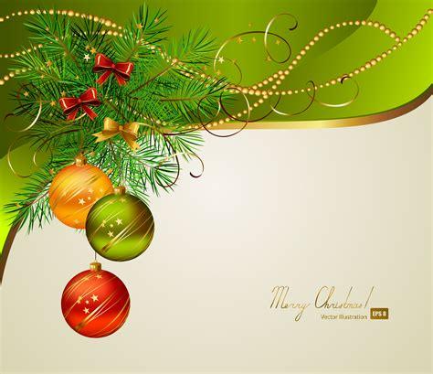 design natal beautiful christmas background 01 vector free vector 4vector