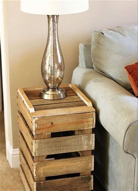 Side Table Ideas by 5 Diy Antique Pallet Side Table Ideas 101 Pallets