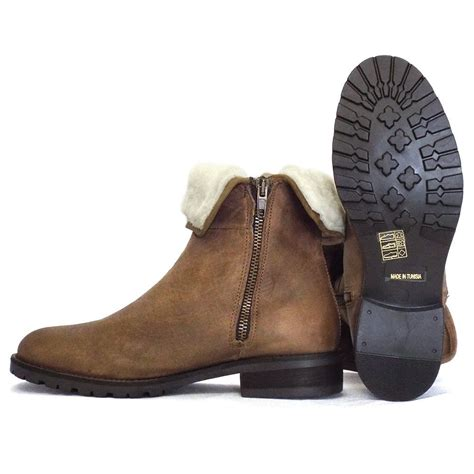 soft boots for rapisardi tamarind ankle boot in soft leather and fur