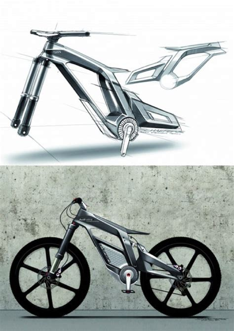 Audi E Bike Kaufen by Audi S New Futuristic Electric Bike Was Designed For Fun