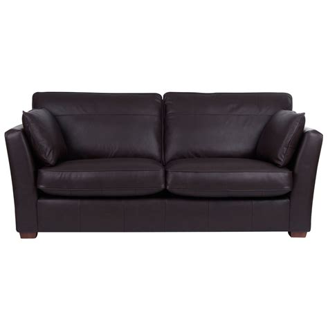 john lewis leather sofa beds john lewis nantes large sofa bed oltan leather review