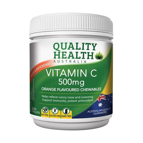 Suplemen Vit C Jual Quality Health Vitamin C 500 Mg Suplemen 200 Tablet