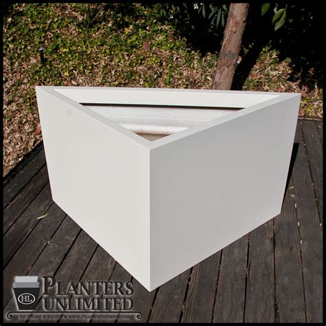 custom planter shapes fiberglass planter commercial planters
