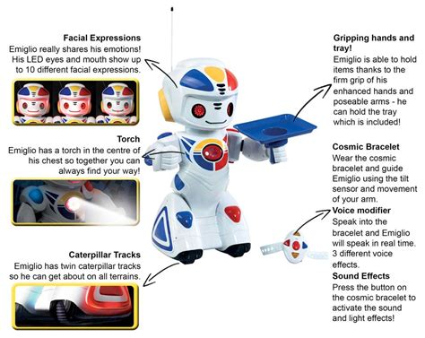 Get Your Own Safety Sam Robot by Emiglio Remote Controlled Robot Co Uk Toys