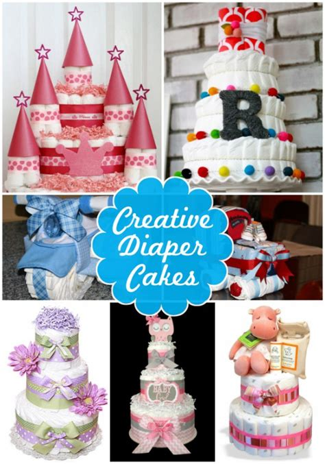 Home Decor Party Companies diaper cake ideas for baby showers design dazzle