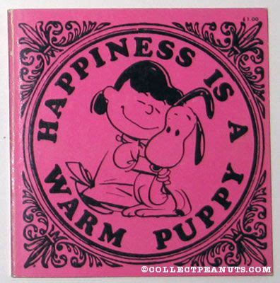 happiness is a warm puppy peanuts determined productions books collectpeanuts