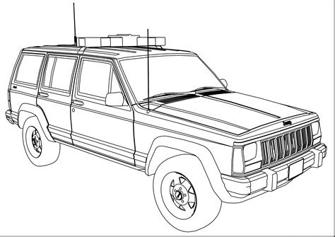 jeep coloring pages to print jeep off road coloring page printable coloring page jeep
