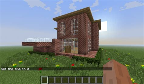 simple minecraft houses simple brick house minecraft project