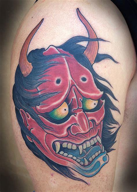 tattoo japanese demon shoulder japanese demon tattoo by full circle tattoos