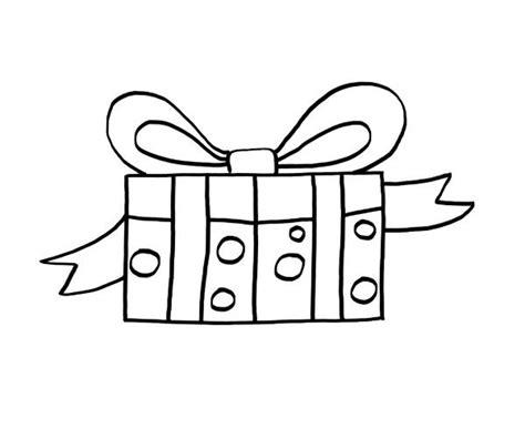 imagenes de navidad para colorear regalos regalo dibujo para colorear e imprimir