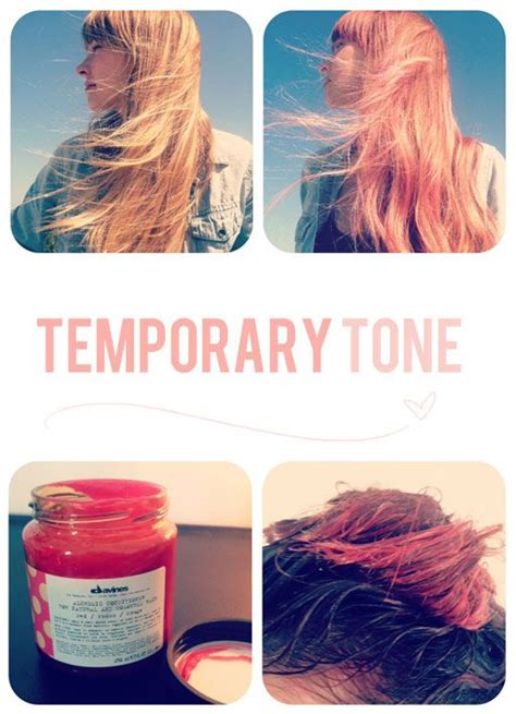 wash in temporary hair color 25 best ideas about temporary pink hair dye on