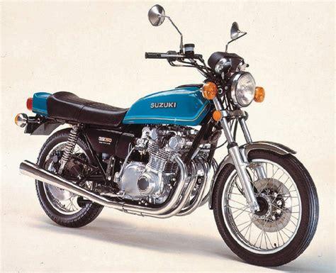 1977 Suzuki Gs750 Gs 750 1976 1977 Suzuki Motorbikes