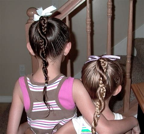 little girl hairstyles braided to the side little girl s hairstyles french braid twist around