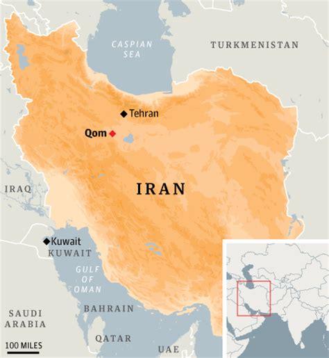 qom iran map iran map qom