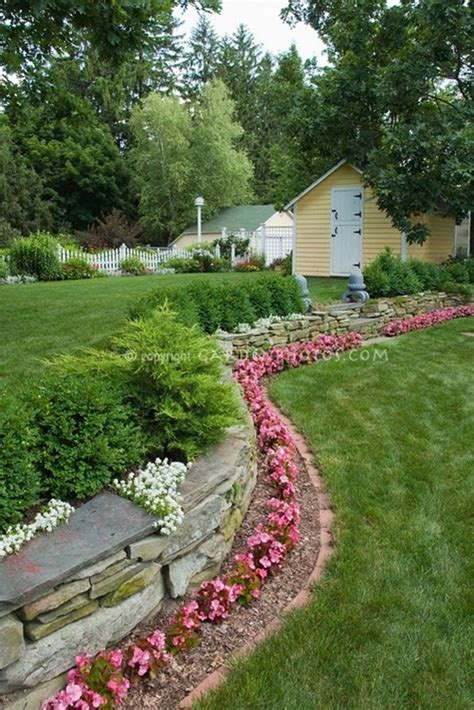 borders for flower beds 25 garden bed borders edging ideas for vegetable and