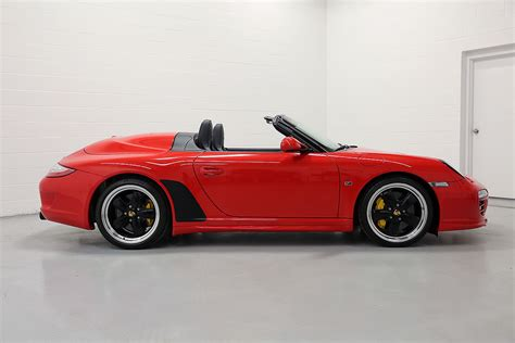 porsche speedster 2011 2011 porsche 997 speedster guards red 3 760 miles sloan cars