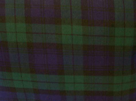 Kemeja Tartan Black Blue black tartan fabric material blue green new ebay