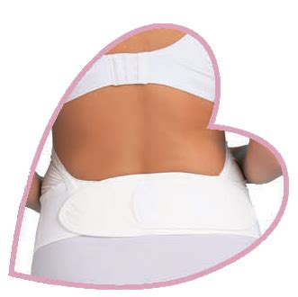 Carriwell Adjustable Velcro Support Belt White Sz L mamidea maternity support belts and belly tops