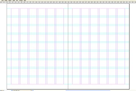 indesign grid template create a magazine cover inner spread with mock ups in