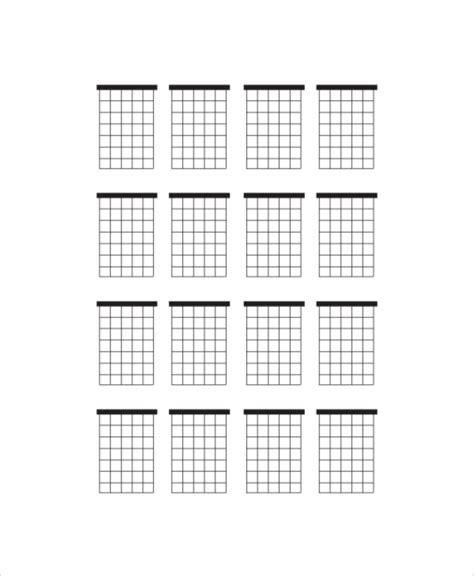 guitar chord diagram 5 blank guitar chord charts free sle exle