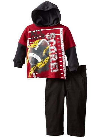 Rebels Baby Boys Infant Hooded Jacket Pullover And Rebels Baby Boys Infant 2 Football Hooded Pullover And Pant Just 7 60