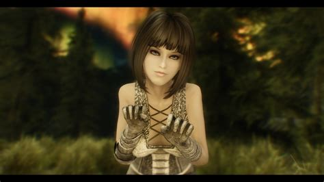 skyrim anime mod girls female skyrim wallpaper 85 images
