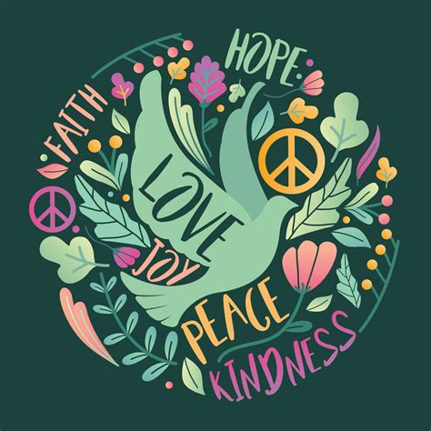 peace vector design   vectors clipart