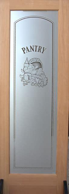 24 X 80 Pantry Door by Pantry Door Vino 3d Etched Glass Door 24 X 1 375 X 80 Traditional Interior Doors By