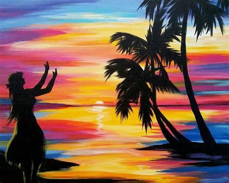 paint nite elk grove ca hula paint social