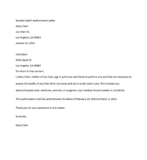 authorization letter to bank to collect documents 40 authorization letter sle templates free pdf word