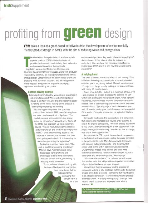 business magazine layout design press and media global view sustainability services
