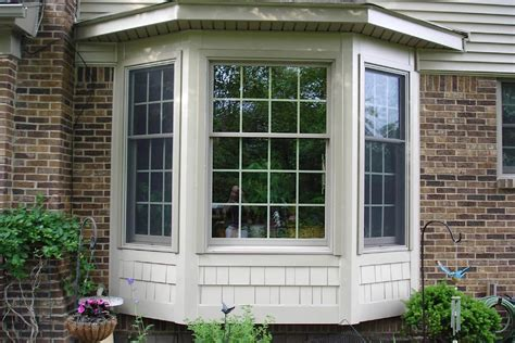 home windows outside design bay windows bay window replacement chicago suburbs