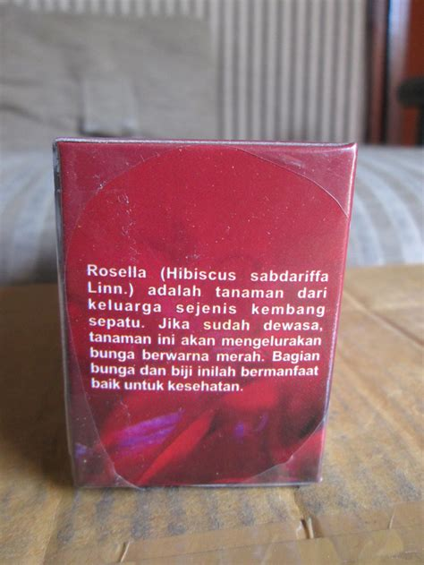 Teh Celup Bunga Rosella teh celup rosella alzafa store