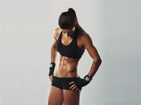 Sexy abs woman