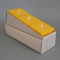 eckige kerzen candle deluxe square candles 55 x 55 x 55