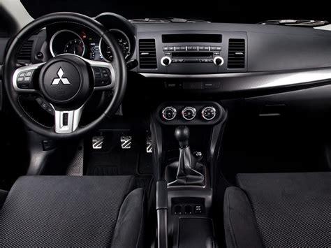Mitsubishi Lancer 2013 Interior by 2013 Mitsubishi Lancer Evolution Price Photos Reviews