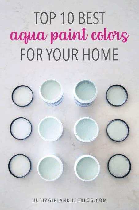 aqua paint colors top 10 aqua paint colors for your home abby lawson