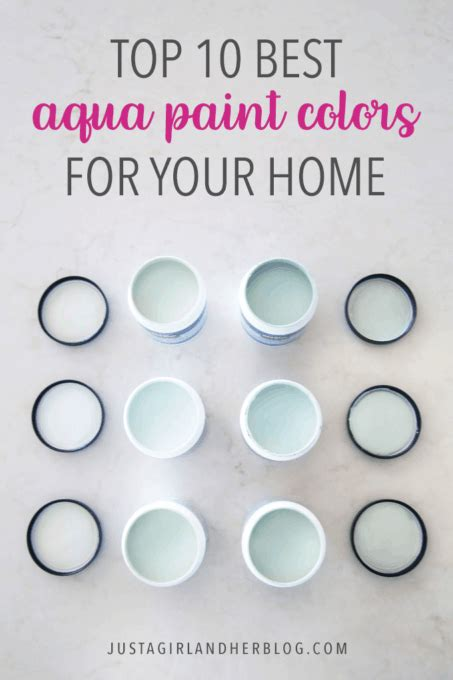 top paint colors top 10 aqua paint colors for your home abby lawson