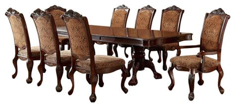 cromwell antique cherry formal dining room set cm3103t cromwell double pedestal formal dining room table 7 piece