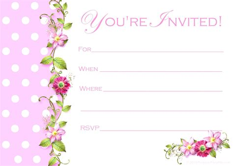 invitation card template happy birthday invitation cards gangcraft net