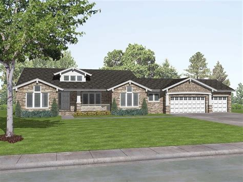 new ranch home plans ranch craftsman style house plans new romaine place ranch
