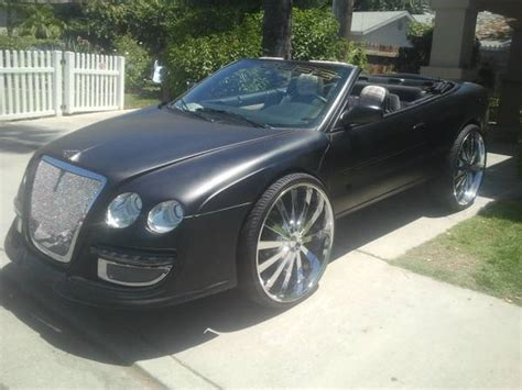 bentley sebring chrysler sebring bentley conversion on craigslist mopar blog