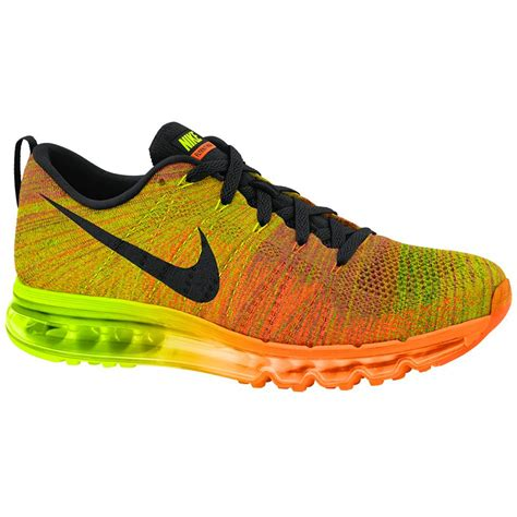 Nike Air Max Flyknit Total Orange nike flyknit air max running shoe total orange volt