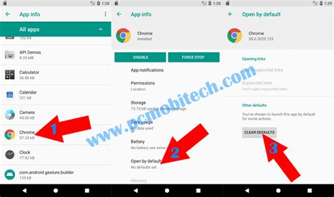 android reset always open with how to reset default apps on android oreo 8 0 nougat 7 1 1