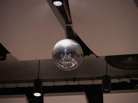 disco ball light fixture auditorium information