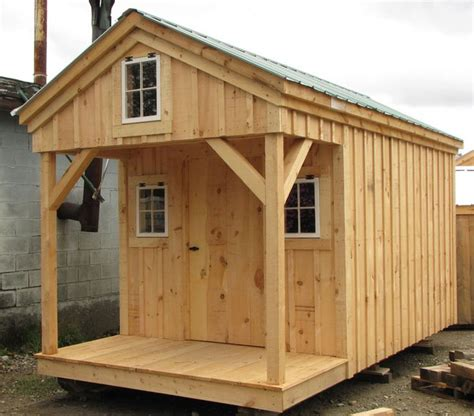 Home Design 8x16 by 8x16 Bunkhouse Available As Plans Kits 2 People 24